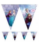 Frozen Karlar Ülkesi Doğum Günü Parti Flaması 2mt